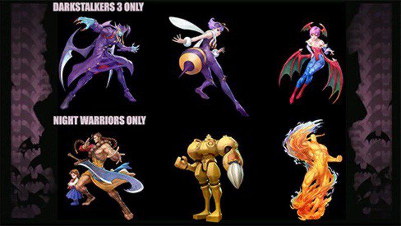 [Arcade- PS1] DarkStalkers - The Night Warriors 9