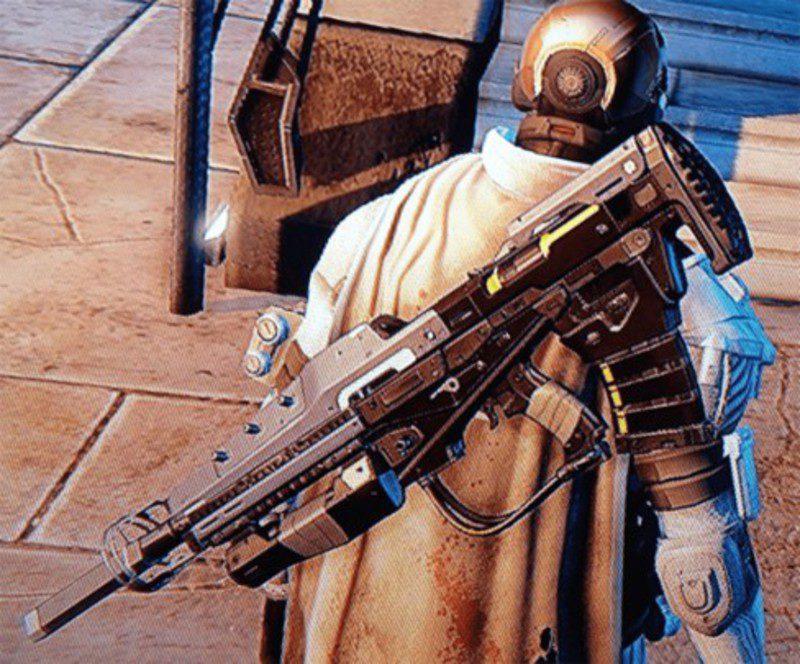 Regalo de un arma única a un usuario de Destiny 1