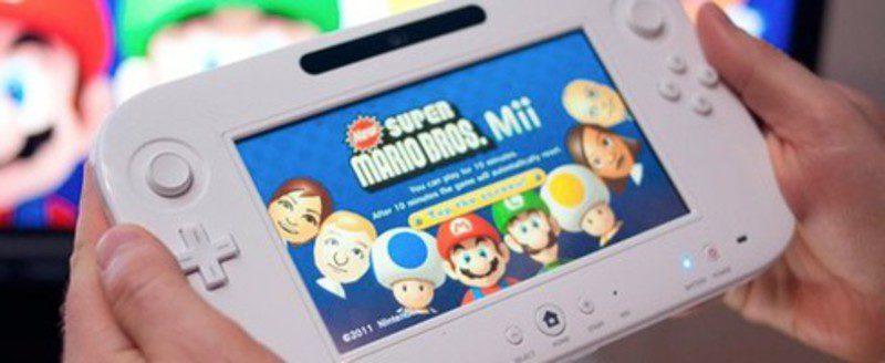 Nintendo Wii U y Mario