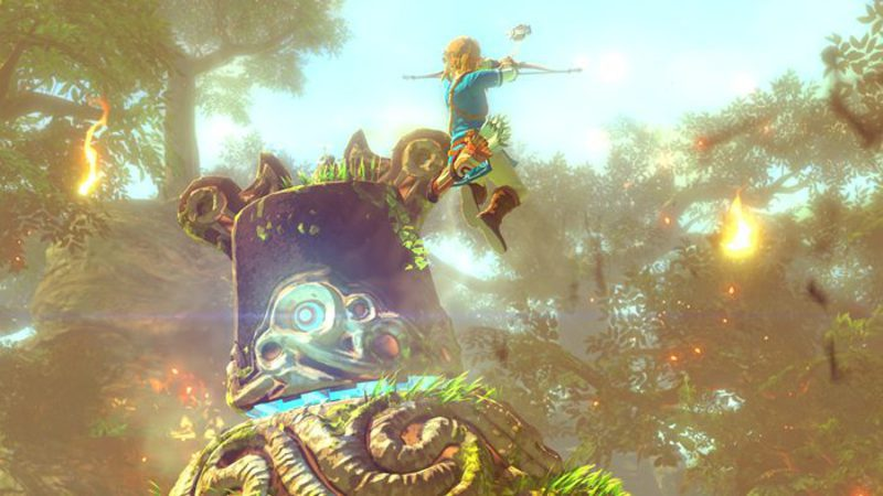 Ni rastro de Zelda...