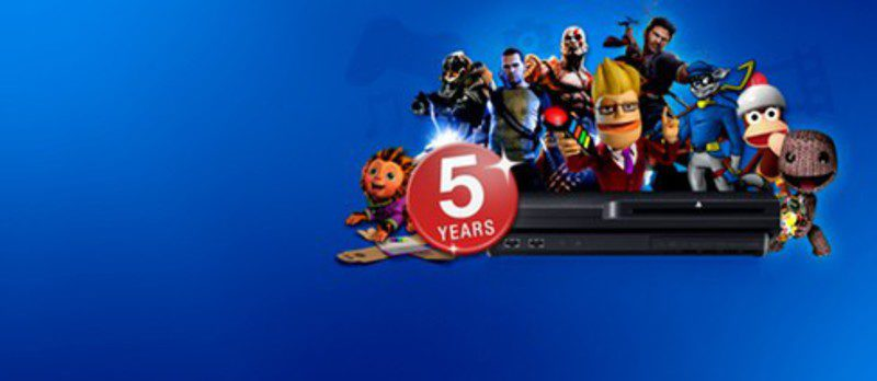 5 años de playstation 3