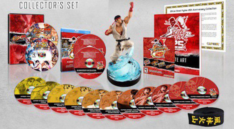 Street Fighter celebrará su 25 aniversario con una edición coleccionista 1