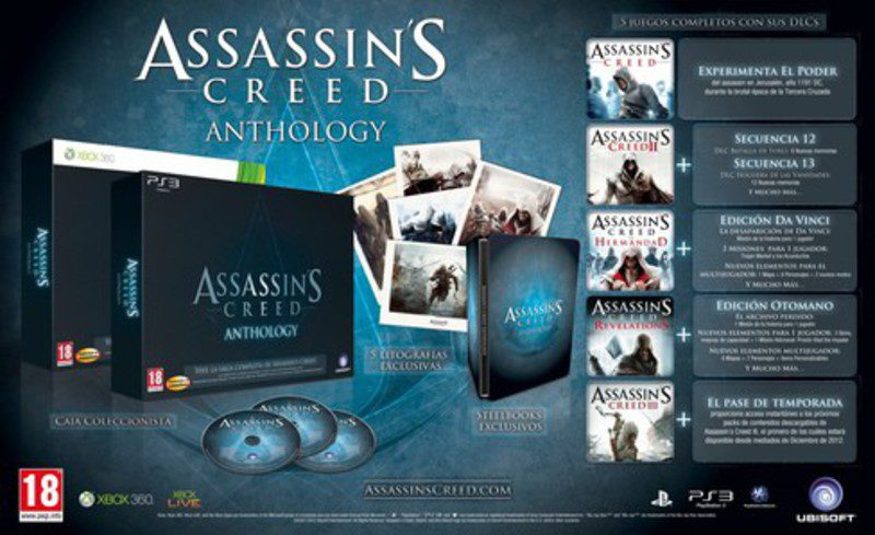 assassins creed anthology
