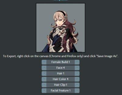 Crea tu propio personaje de 'Fire Emblem Fates' con esta web