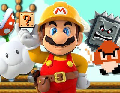 No has visto un nivel tan complicado como éste en 'Super Mario Maker'