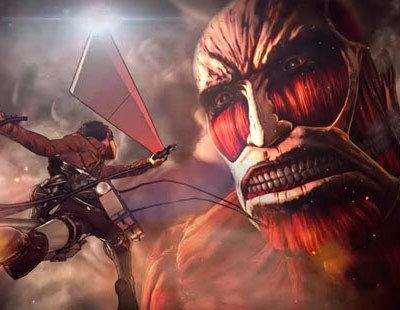 Eren reparte amor en su forma titán en el nuevo gameplay de 'Attack on Titan'