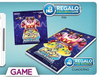 'Kirby: Planet Robobot' - Reserva el juego y llévate estos regalos en España